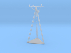 European Electric Pole Z Scale in Smooth Fine Detail Plastic