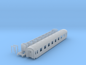 DSB class A coach (late version) N scale in Frosted Ultra Detail