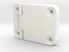 Door hinge new model D90 D110 Gelande 1:10 in White Processed Versatile Plastic