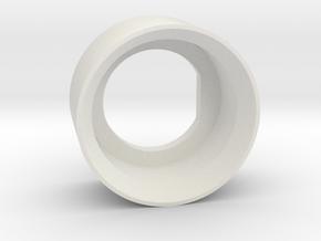 Push Button Shroud B2.0 in White Strong & Flexible