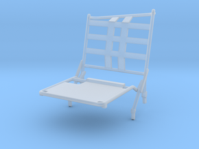 02A-LRV - Closed Left Seat in Smooth Fine Detail Plastic