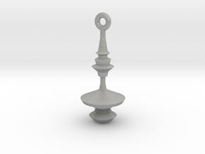 Waveform Keychain / soundwave jewelry in Raw Aluminum