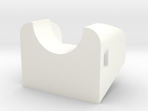 20 Degree Runcam Owl Mount in White Processed Versatile Plastic