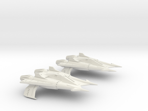 Thunder Fighter Advanced 1/200 in White Natural Versatile Plastic
