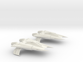 Thunder Fighter 1/200 in White Natural Versatile Plastic