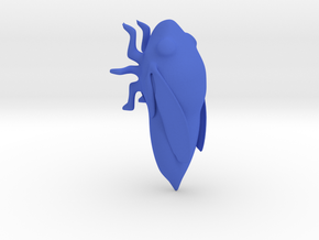 Cicada Whistle (Untested) in Blue Processed Versatile Plastic