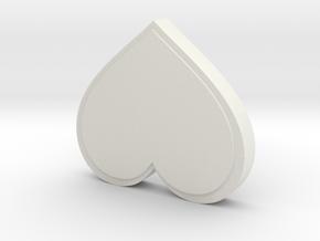 Valentine's Card-Making Box in White Natural Versatile Plastic