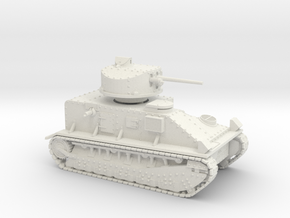 Vickers Medium Mk.II (20mm) in White Strong & Flexible