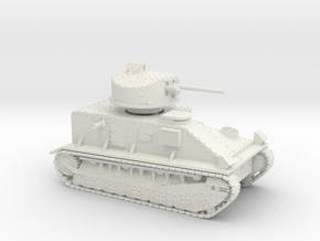 Vickers Medium Mk.II (20mm) in White Natural Versatile Plastic