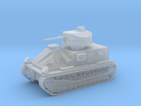Vickers Medium Mk.II (1/144 scale) in Smooth Fine Detail Plastic