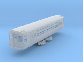 N Scale CTA 1-50 Series Car (3rd Rail Version) in Frosted Ultra Detail