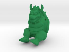 Koopa MarioKart in Green Strong & Flexible Polished