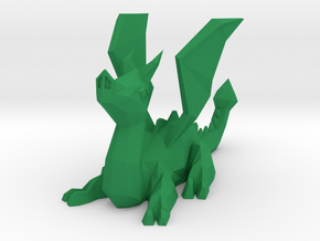 Polydragon in Green Processed Versatile Plastic