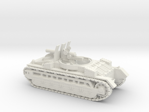 Birch Gun (28mm, 1/56 scale) in White Natural Versatile Plastic