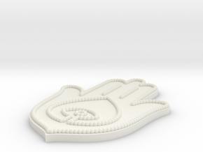 Model-172d1e693a66ee3295d7d271422f6e35 in White Natural Versatile Plastic
