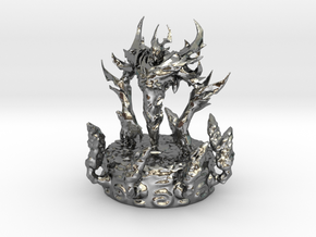 Shadow Fiend Dota 2 in Fine Detail Polished Silver