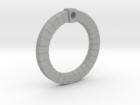 Moongate Necklace in Aluminum