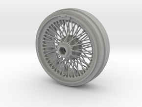 1/8 Wire Wheel Front, with 72 spokes in Aluminum