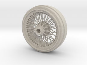 1/8 Wire Wheel Front, with 72 spokes in Natural Sandstone