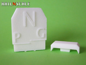 NEM 102 Umgrenzungsprofil (N 1:160) in White Strong & Flexible