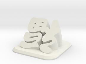 FuDesk in White Strong & Flexible