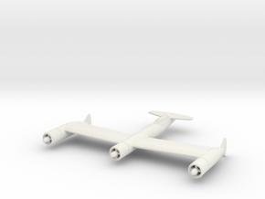 1/200 Blohm & Voss Bv P 170 in White Natural Versatile Plastic