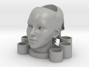 2 Heads Multi-candle Holder in Aluminum