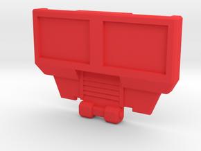 Hotspot Combiner Wars  BorstPlaat met Positie Gate in Red Strong & Flexible Polished