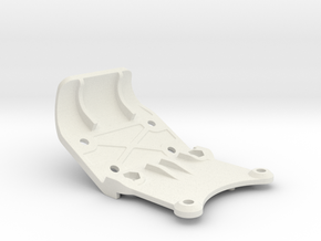 0029 - Dyna Storm E4, Kick-up Plate in White Natural Versatile Plastic