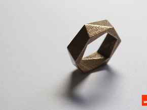 Twist-ring (medium) in Stainless Steel