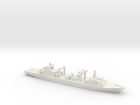 Type 903 replenishment ship, 1/1800 in White Natural Versatile Plastic