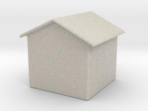 House in Natural Sandstone