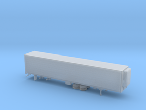 1/120 Semi Reefer Trailer in Smooth Fine Detail Plastic