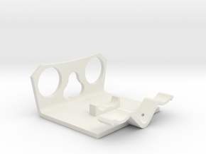 Power Cell Bracket #2 in White Strong & Flexible