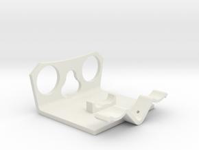 Power Cell Bracket #2 in White Natural Versatile Plastic