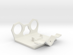 Power Cell Bracket #7 in White Natural Versatile Plastic