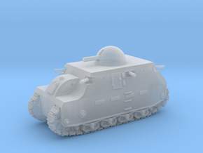 Fiat 2000 (6mm - 1/285 scale) in Smooth Fine Detail Plastic