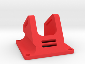 FPV Camera Mount for mini fpv camera from surveilz in Red Strong & Flexible Polished