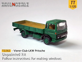 Vierer-Club-LKW Pritsche (TT 1:120) in Frosted Ultra Detail