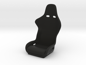 1/10 Scale Recaro Seat in Black Strong & Flexible
