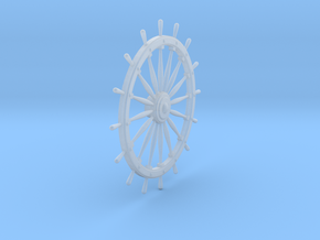 Ship's Wheel in Smooth Fine Detail Plastic