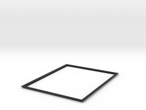 4X5 Film Tray, Cover (Part 1 of 3) in Black Natural Versatile Plastic