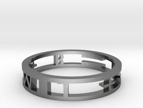 Model-e5d25fd1ca57857b733faad9e1c2a957 in Fine Detail Polished Silver