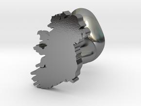 Mayo Cufflink in Polished Silver