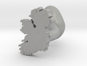 Leitrim Cufflink in Aluminum