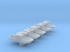1/700 Scale Vietnam PBR Mk 1 X 5 Off in Smooth Fine Detail Plastic