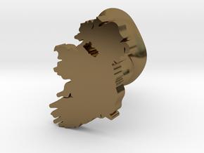 Fermanagh Cufflink in Polished Bronze