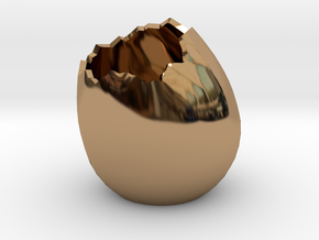 EggShell2 in Polished Brass