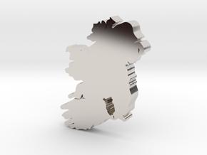 Kilkenny  Earring in Rhodium Plated Brass