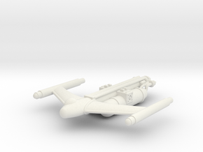 Civilian Light Tanker in White Natural Versatile Plastic